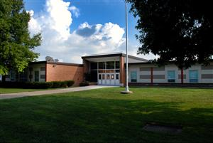 Raytown Central Middle Front Entrance