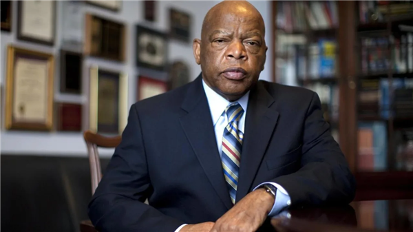 Photo of John Lewis courtesy of History.com