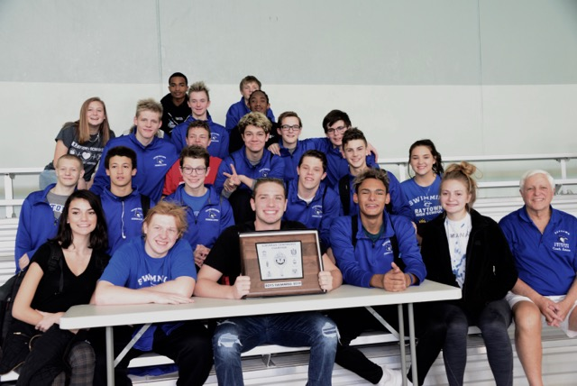 Raytown High School Boys Swim Team Earns Conference Title, Qualifies for State Competition
